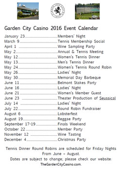 garden city casino tennis club